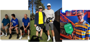 Pickleball group pictures