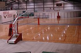 rise hca basketball court